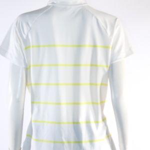 Nike Tops - Nike Golf Dri Fit Women's Large Yellow/White Top